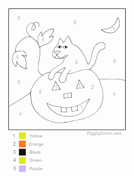 Small Picture Printable Halloween Color Worksheets KindergartenHalloween