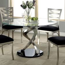 modern dining room table. Modern Glass Dining Room Tables Sofa Attractive Round Table Style
