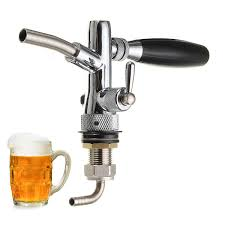 <b>adjustable draft beer faucet</b> home brew dispenser with flow ...