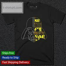 Star Wars May The 4th Be With You t-shirt