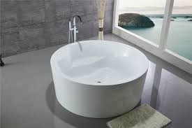 legion jennifer freestanding 59 circular stepped soaking tub within round bathtub plan 15