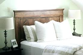 diy wood headboard ideas rustic headboard with lights headboard with lights rustic headboard ideas plywood frame