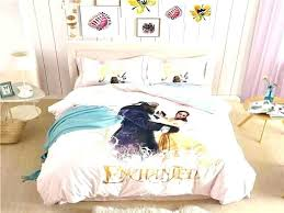 frozen bed sheets queen beautiful beauty and the beast bedding set for size descendants sheet queen size princess bedding sets