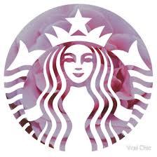 starbucks logo tumblr. Plain Logo Starbucks Mermaid Pink Petals Logo  HipsterTumblrPrettyTrendy Meme And Tumblr L