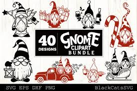 They are like html elements, clickable and can be hovered. Christmas Gnomes Svg Bundle Gnome Clipart Svg 40 Designs 993246 Cut Files Design Bundles