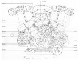 v12 engine blueprint bmp 4mb front view proyectos que debo v engine
