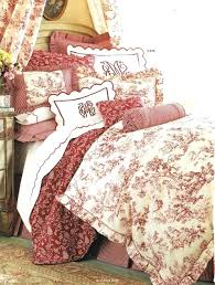 red toile bedding photo 3 of 9 french duvet 3 best bedding ideas on french country red toile comforter sets