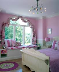 Small Pink Bedroom Window Treatment In Little Girls Pink Bedroom My Dream Job Is