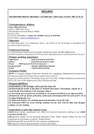 Ndt Resume Sle 28 Images Qa Inspector Resume Sales