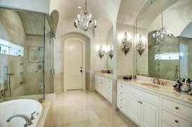 chandeliers for master bedroom luxury suite bathroom with elegant crystal chandelier