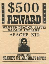 Wanted Poster Old West Wanted Handbills Old West Outlaws