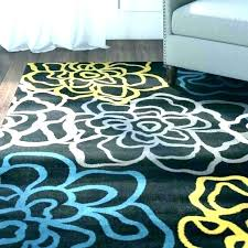 teal and yellow area rug yellow area rug interior teal and rugs grey blue y fantastic