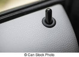 car door lock button. Color Detail Of The Lock Button On A Car Door. Door