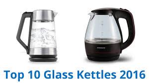 10 best glass kettles 2016