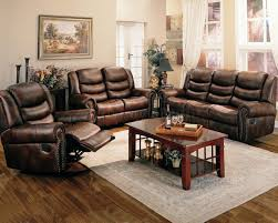 Modern Living Room With Brown Leather Sofa Bedroom Fantastic Living Room With Leather Sofa Bed Furniture