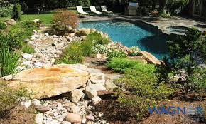 natural looking in ground pools. Natural Pools #001 By Wagner Natural Looking In Ground Pools