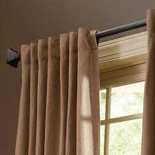 hanging curtains from the ceiling the