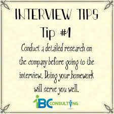 Interview Tip Interviewing Tip 1 1bc Consulting