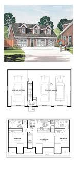 Garage Apartment Plan 30032 | Total Living Area: 887 sq. ft., 2