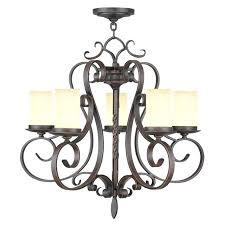 hampton bay 5 light chandelier bay patina chandelier lighting manor in 5 light imperial bronze candle