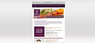 Emails Ateliers Culinaires Webiliz Agence Web à Angoulême