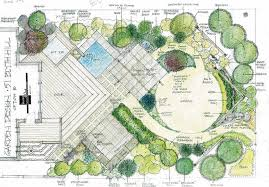Small Picture Garden Design Drawing Nice Home Zone