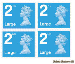 4 X Large Letter 1st Class First Class Stamps Royal Mail Post
