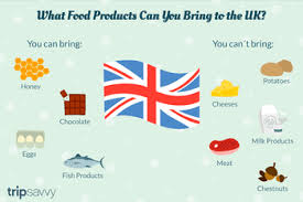 what food s can you bring to the uk