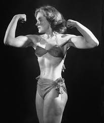 Strong woman Joan Rhodes | Body building women, Muscular women, Muscle women