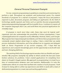 general personal statement examples for you this page tells about general personal statement general personal statement sample can be of great help to you when writing your personal statement