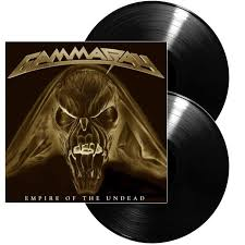 <b>GAMMA RAY</b> | <b>Empire</b> of the undead BLACK VINYL - Nuclear Blast