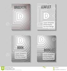 business report cover page template book title page template business report cover stock illustration