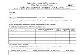 9 Employment History Verification Forms Templates Pdf