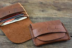 flap wallet groomsman gift husband gift handmade credit card wallet boyfriend gift personalized leather mens wallet niceleather nl101