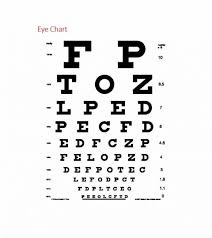 Eye Exam Snellen Chart 22 Explanatory Eye Exam Reading Chart