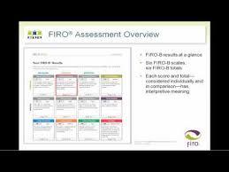 Firo B Firo Assessments Overview Youtube