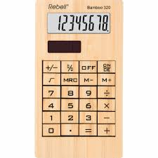 Rebell Re Bamboo 320 Eco Calculator Buy Eco Calculator Rebell Re Bamboo Product On Alibaba Com