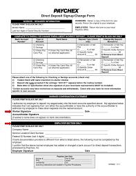Social Security Direct Deposit Form Stunning Direct Deposit Form DocSharetips