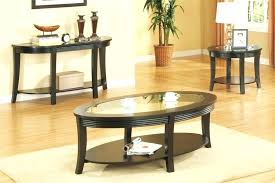 black coffee table and end table sets marble coffee table set end tables ideas top round