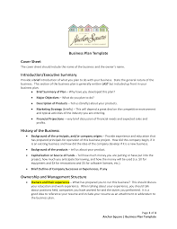 Operation Plan Outline Free Business Plan Proposal Templates At Allbusinesstemplates Com