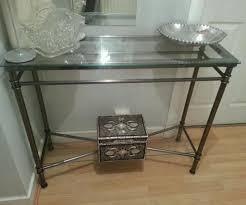 console table decor. Ravishing Glass Console Table Laundry Room Charming Of Decor E