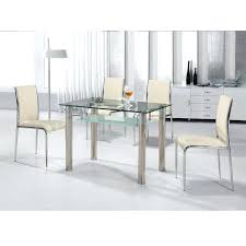 circular glass dining table and 4 chairs extraordinary round glass dining table and chairs on