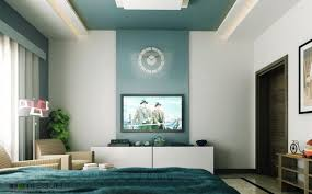 Painting Accent Walls In Living Room Accent Wall Living Room Blue Paint On The Wall White Drum Floor