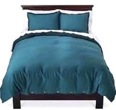 target linen duvet new target threshold teal linen blend vintage washed king size duvet cover set