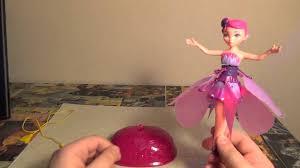 Игрушка кукла <b>летающая фея flying fairy</b>. Видео, обзор, отзывы ...