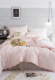 pink striped bedding king 2x2 3m