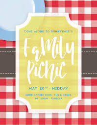 Create Event Flyer How To Create A Summer Picnic Community Event Flyer In Adobe