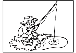 Small Picture Fishing Coloring Pages nywestierescuecom