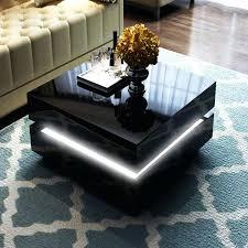 coffee table with led lights high gloss black coffee table with led lighting range white high coffee table with led lights gloss