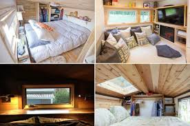 tiny homes on wheels bedrooms .